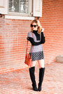 Black-forever-21-boots-black-maggy-london-dress-black-missguided-shirt
