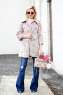 Gray-forever-21-boots-light-pink-forever-21-coat-light-pink-balenciaga-bag