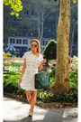 White-lemonpop-dress-dark-green-angela-roi-bag-silver-freyrs-sunglasses