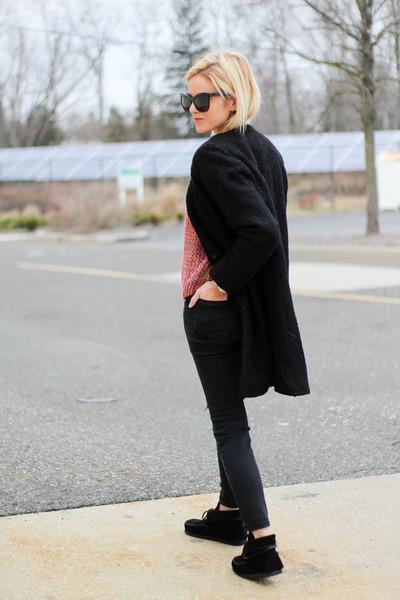 black Isabel Marant boots - black Forever 21 jacket
