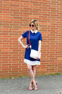 Blue-sheinside-dress-white-nordstrom-bag-nude-bottega-veneta-heels