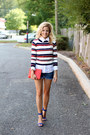 White-ootd-fash-sweater-red-rebecca-minkoff-bag-navy-h-m-shorts