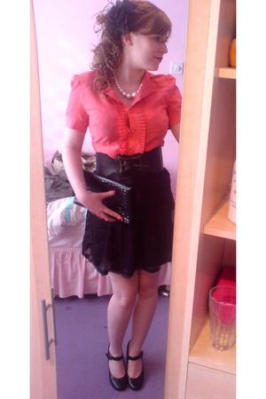next shirt - killah skirt - Primark belt - Vintage i think purse