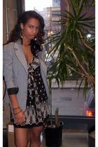 I made it blazer - India dress