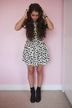 heart print Ollie May dress