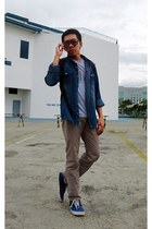 Wear His Word t-shirt - Vans shoes - from Korea jacket
