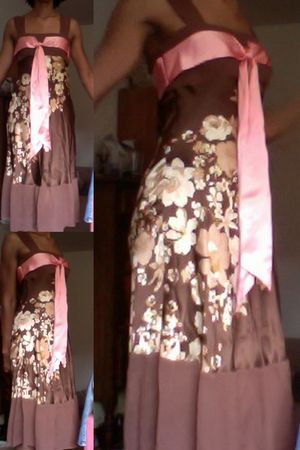 brown Bebe dress