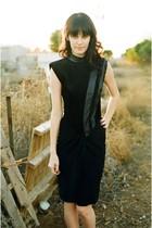 black Chamois Shack dress