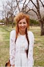 Bow-vintage-dress-vintage-hat-lace-vintage-jacket-hearts-target-tights