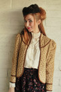 Purple-velvet-vintage-skirt-camel-corduroy-pretty-lee-jacket