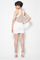 white Klassiq dress