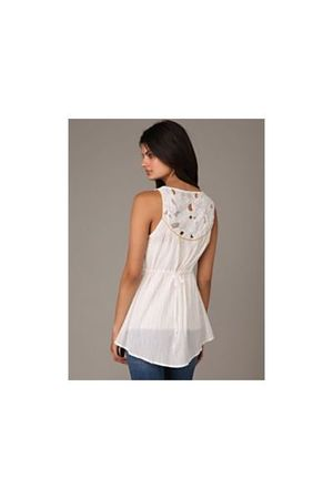 white free people shirt