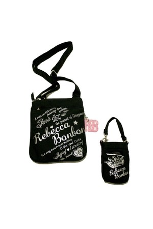 black Rebecca Bonbon accessories