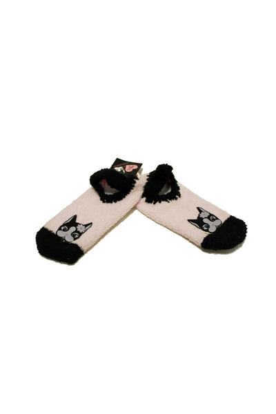 light pink Kmart socks
