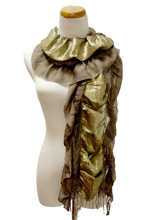 brown Kmart scarf