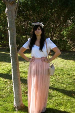 Forever 21 skirt - H&M shirt - Chloe bag - Bedford Falls accessories