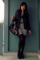 black Mackage jacket - black Jeffrey Campbell shoes