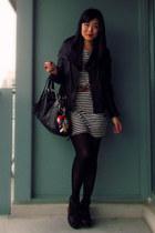 black Mackage jacket - black Jeffrey Campbell shoes