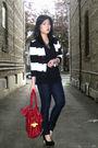 Black-h-m-blazer-black-old-navy-t-shirt-blue-forever-21-jeans-red-urban-ou