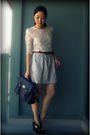 White-forever-21-blouse-blue-forever-21-bag-blue-urban-outfitters-skirt-br