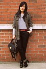 Army-green-forever-21-jacket-black-marc-by-marc-jacobs-bag-red-h-m-belt-wh