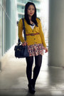 Navy-forever-21-bag-black-jeffrey-campbell-wedges-pink-zara-skirt-mustard-