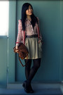 Red-urban-outfitters-blazer-tawny-the-sak-bag-dark-brown-urban-outfitters-be