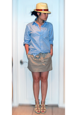 Gap shirt - Jacob skirt - H&amp;M shoes - zellers hat