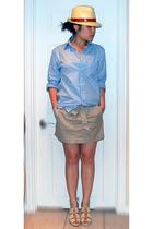 Gap shirt - Jacob skirt - H&M shoes - zellers hat