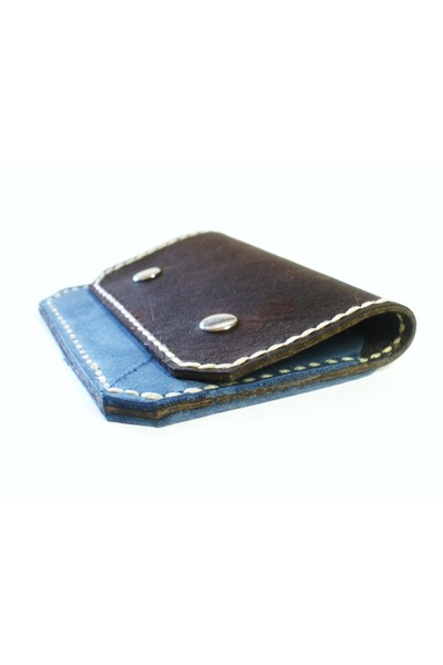 dark brown Birdhouse Designs wallet