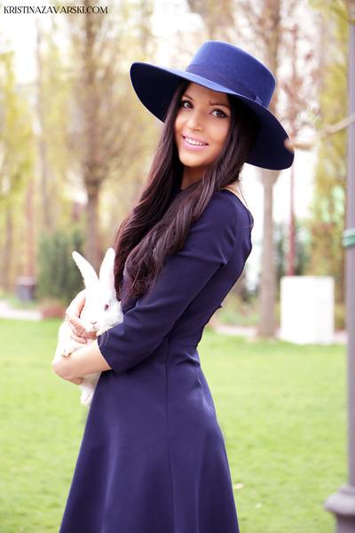 River Island hat - il passo shoes - Zara dress