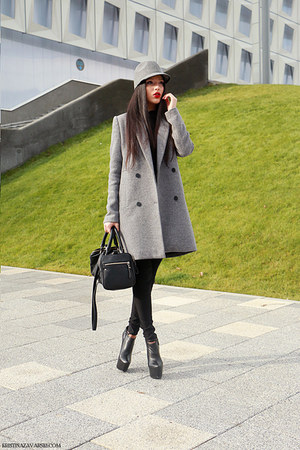 Zara coat - Zara hat