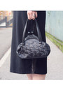 Leather-pollini-jacket-unknown-vintage-dress-moschino-bag