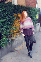 wool loose knit Missoni sweater - Comme des Garcons for H&M shirt