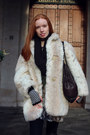 Heather-gray-printed-diesel-dress-off-white-unknown-coat
