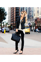 black Viparo jacket - Rich & Skinny jeans - Givenchy bag