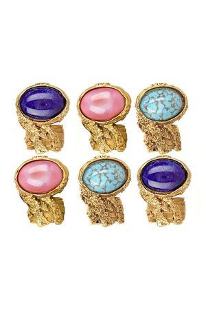 blue YSL accessories