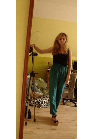 La Redoute sandals - vintage pants