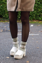 white Krossy sandals