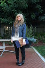Navy-flat-boot-mossimo-boots-black-old-navy-jeans-navy-denim-jacket-gap-jack