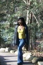 yellow tank top Rue 21 shirt - jeans Unionbay pants