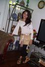Black-forever-21-shoes-beige-skirt-white-blouse-black-forever-21-leggings