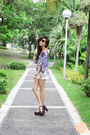 White-clothes-for-the-goddess-shorts-dark-brown-akira-sunglasses