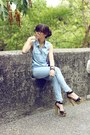 Sky-blue-zara-pants