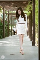 ivory Sheinside dress