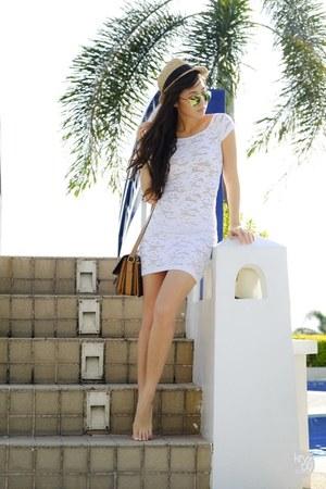 white Guess dress