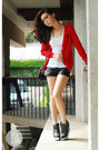 Ruby-red-wagw-cardigan-black-five-by-five-boots-black-h-m-shorts