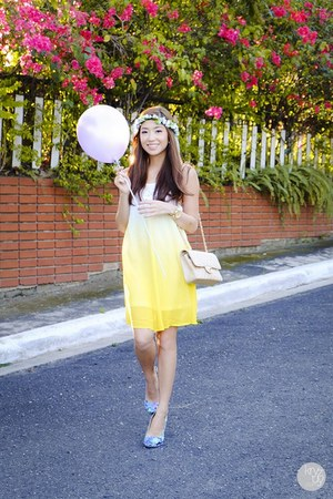 yellow thrift market dress