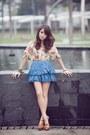 Blue-wagwmultiplycom-skirt-eggshell-wagwmultiplycom-top-tawny-charles-and-ke