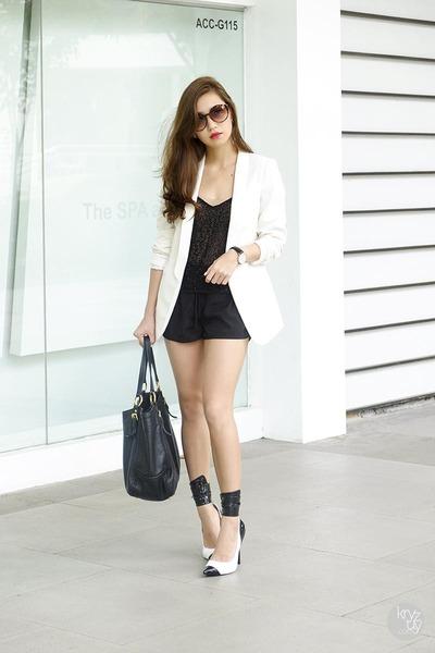 white DAS heels